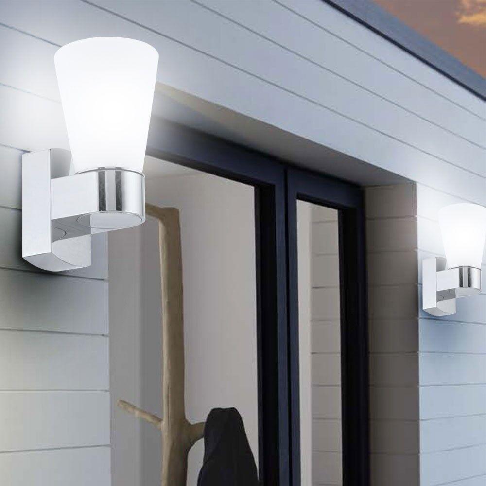 2 x applique luminaire mural LED éclairage extérieur lampe ...
