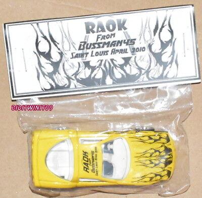 UnermüDlich Hot Wheels Raok Von Bussmanys Saint Louis April 2010 '97 Corvette W Autos, Lkw & Busse Reisen