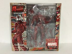 AUTHENTIC-Revoltech-SPIDER-MAN-Amazing-Yamaguchi-No-008-CARNAGE-Kaiyodo-USSELLER