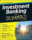 Investment Banking For Dummies by Robert R. Johnson, Matt Krantz (Paperback, 2014)