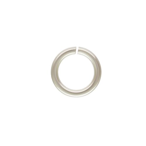 Sterling Silver Filled 8mm 16ga Open Jump Rings 60pcs #4505-8