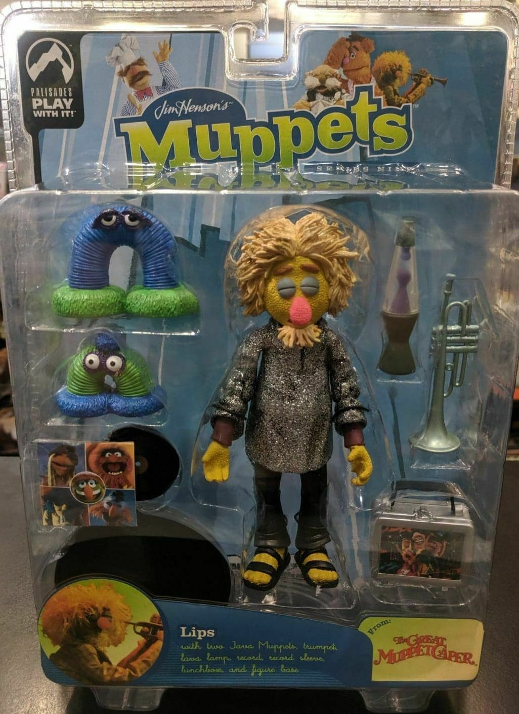 MUPPETS Palisades LIPS Action Figure Series 9 GREAT MUPPET CAPER