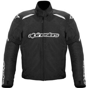 Alpinestars-Gunner-Waterproof-Motorbike-Motorcycle-Jacket-Black