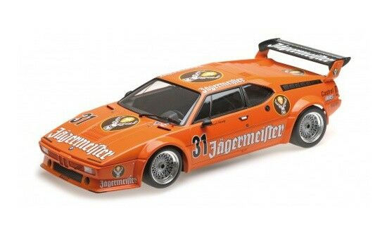 125822931 - Minichamps BMW m1 MIS. 4-K. re-DRM NURBURGRING 1982 - 1:12