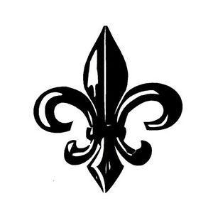 Image Is Loading Large FLEUR DE LIS Unmounted Rubber Stamp 15