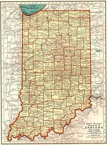 Details about 1939 Antique INDIANA Map Collectible State Map of Indiana on missouri map, nevada map, california map, fort wayne map, maine map, florida map, state map, texas map, wisconsin map, montana map, hawaii map, new jersey map, illinois map, louisiana map, iowa map, ohio map, mississippi map, north dakota map, tennessee map, michigan map, usa map, minnesota map, idaho map, maryland map, kentucky map, colorado map, arizona map, kansas map,