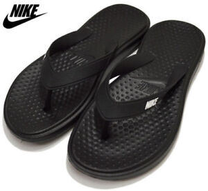 42b9ba4cc088 Details about NEW Nike Solay Thong US 11 Slip on Flip Flops Sandals Bath  Pool Beach 882690-005