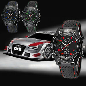 Mens-Vogue-Classic-Black-Silicone-Band-Stainless-Steel-Sports-Quartz-Wrist-Watch
