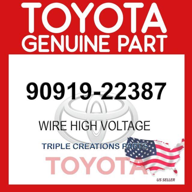 TOYOTA 9091922387 GENUINE OEM CABLE SET