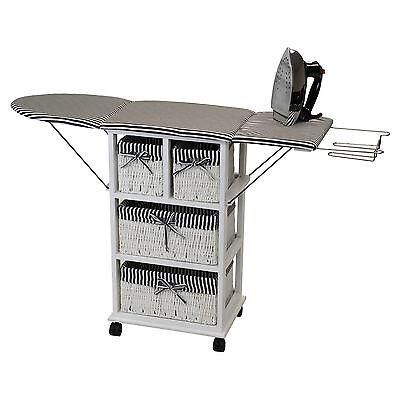 "NORDIC Ironing Board Shelf 2-in-1 NX-904 Ironing Board 11.8"" x 41"" x 29.1"" NEW"