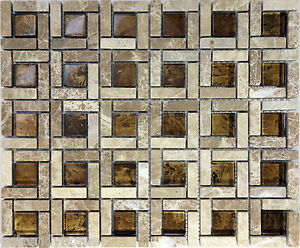 bathroom tile how to sample brown glass pattern tile sink wall 16770