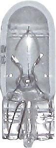 504 Bulb 12V 3W Side light capless number plate automotive van marine lamp