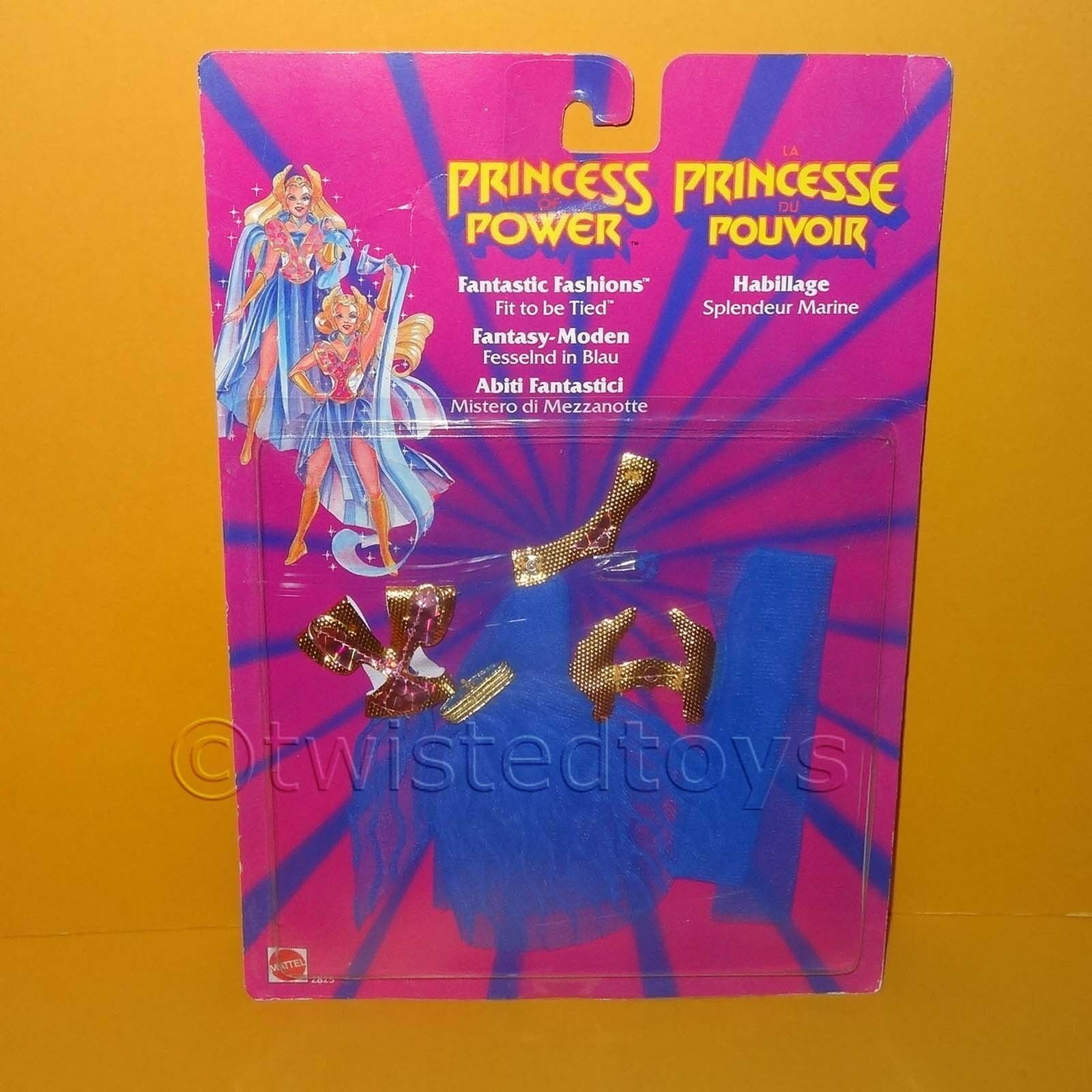 VINTAGE 1986 MATTEL SHE-RA PRINCESS OF POWER FANTASTIC FASHIONS FIT TO BE TIED