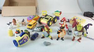 Figuren-Konvolut-Spielzeug-Ice-Age-Shrek-Spongebob-diverse-defekt-W-1475
