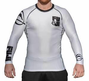 Fuji Lumberjack Match MMA BJJ Jiu Jitsu LongSleeve Long Sleeve LS Rashguard Rash
