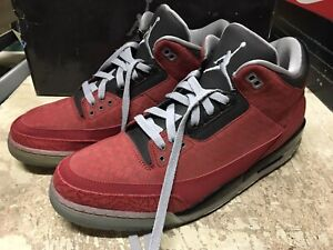 864eb41a96b USED MENS NIKE AIR JORDAN III 3 RETRO DB DOERNBECHER 3M 2010 ED ...
