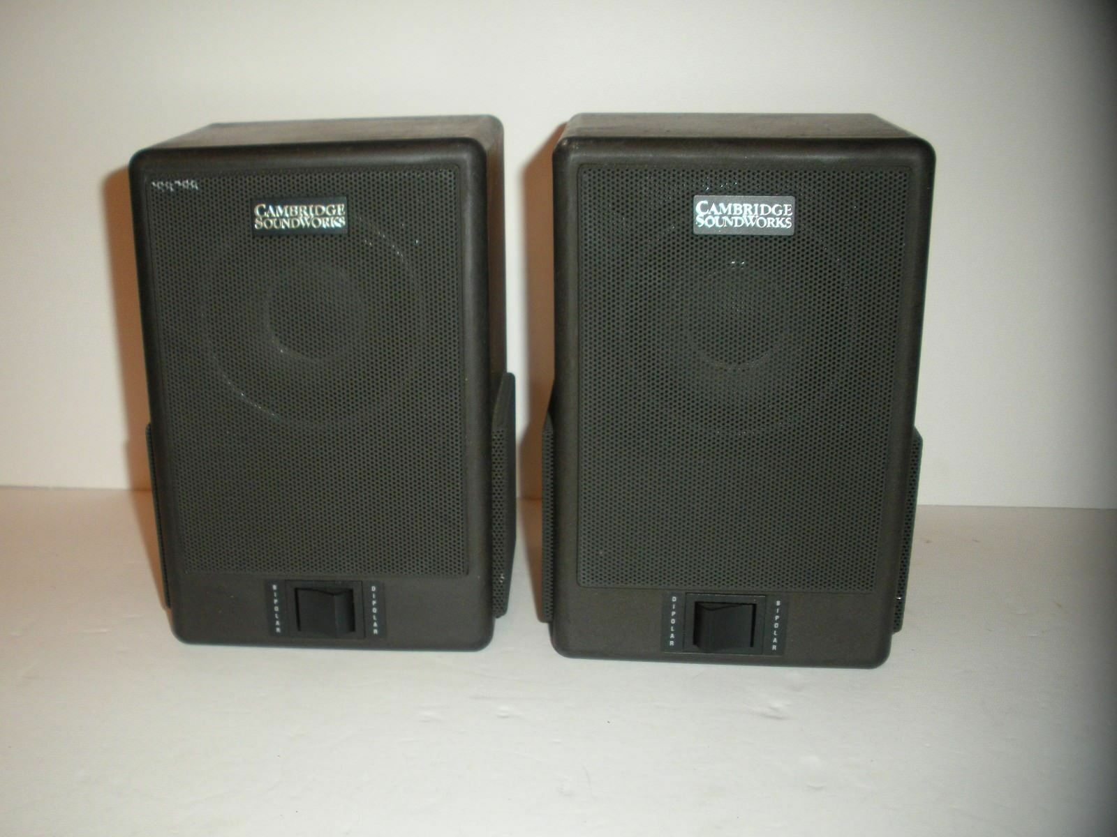CAMBRIDGE SOUNDWORKS The Surround II 5.1 MultiPole Surround Speakers TESTED