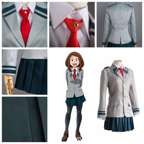 My Boku no Hero Academia Midoriya Izuku Bakugou Katsuki School Uniform Cosplay