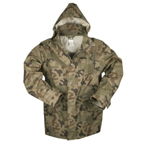 Mil-Tec Polish Wet Weather Jacket Trilaminat Camouflage XX-Large 10622035
