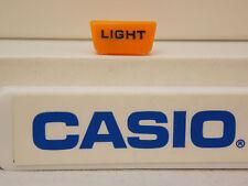 Casio Watch Parts PAG-40 & PRG-40 Light Button Orange. Original Casio Case Part