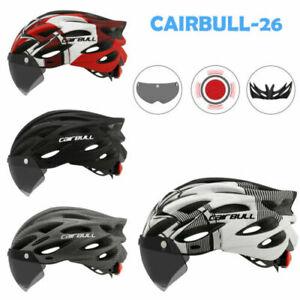 CAIRBULL Adult Bike Helmet Mountain Road Bicycle Helmet Lens And Brim Taillight