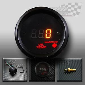 Temperatura-aceite-de-calibre-52mm-2-034-Dash-Kit-Personalizado-De-Reloj-Panel-Interior-LED-Digital