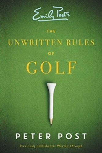 1 of 1 - The Unwritten Rules of Golf-ExLibrary
