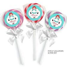 24 Pocoyo Birthday Party Baby Shower Lollipop Stickers Favors Invitation Seals