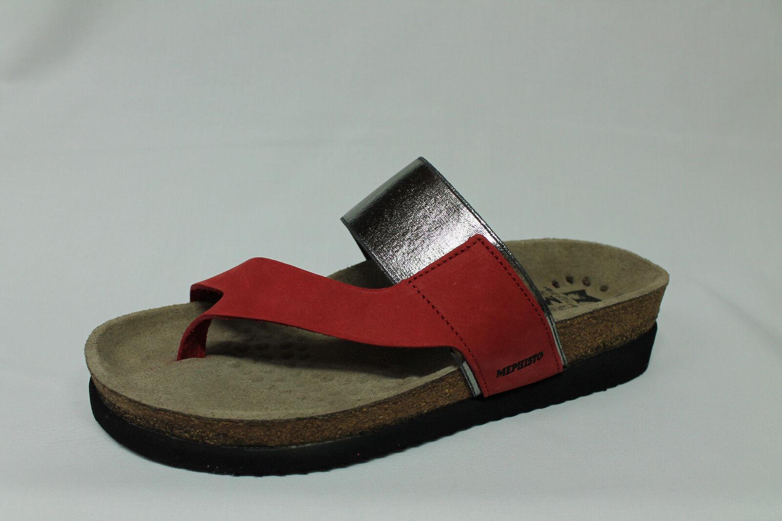 Ciabatte sandali infradito Mephisto Hubilia Birkenstock nabuck rosso tipo Birkenstock Hubilia 33ecb8