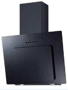 pkm dunstabzugshaube schr ghaube 60cm glas schwarz kopffreihaube randabsaugung 4030608503715 ebay. Black Bedroom Furniture Sets. Home Design Ideas