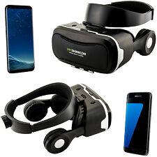 3D Brille VR Headset Virtual Reality für Samsung Galaxy S5 Mini S6 S7 Edge S8 +