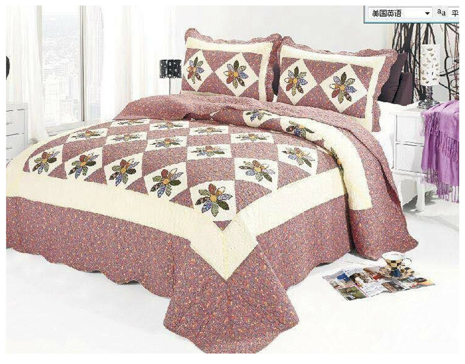 Shop eBay for great deals on Full/Queen Quilts, Bedspreads & Coverlets. You'll find new or used products in Full/Queen Quilts, Bedspreads & Coverlets on eBay. Free shipping on selected items.