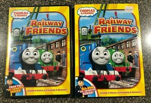 Thomas-the-Tank-Engine-amp-Friends-Railway-Friends-NEW-DVD-Free-Shipping