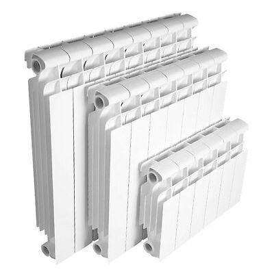 Radiador RAYCO aluminio modelo RD altura 60 cm blanco 9 elementos