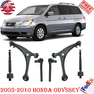 Front Suspension Control Arm And Ball Joint Assemblies Kit For 2005-2010 Honda Odyssey