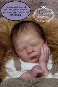 "Realborn® Logan Sleeping 19.5/"" Reborn Doll Parts Kit"