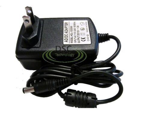 2A CCTV Power Adapter Security Camera US plug 5.5mmx2.1mm DC 12V 2000MA