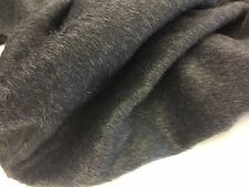 "New High Class Charcoal Grey Mohair Wool Fabric 60"" 152cm Wide 2.5 METRE PIECE"