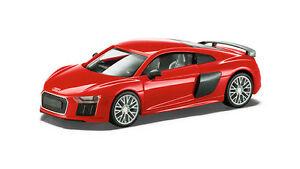 Audi-R8-V10-Plus-Coupe-Modello-2015-Auto-1-87-Dynamitrot-Rosso-5011518422