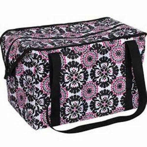 Thirty One Fresh Market Thermal Bag 31 Picnic Lunch Tote Gift Pink Pop Medallion Ebay