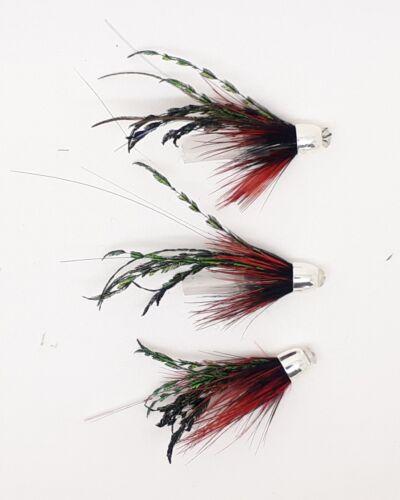 3 ALEXANDRA MICRO CONEHEAD SALMON FLIES THE FINEST SALMON FLIES TEVIOTFLIES