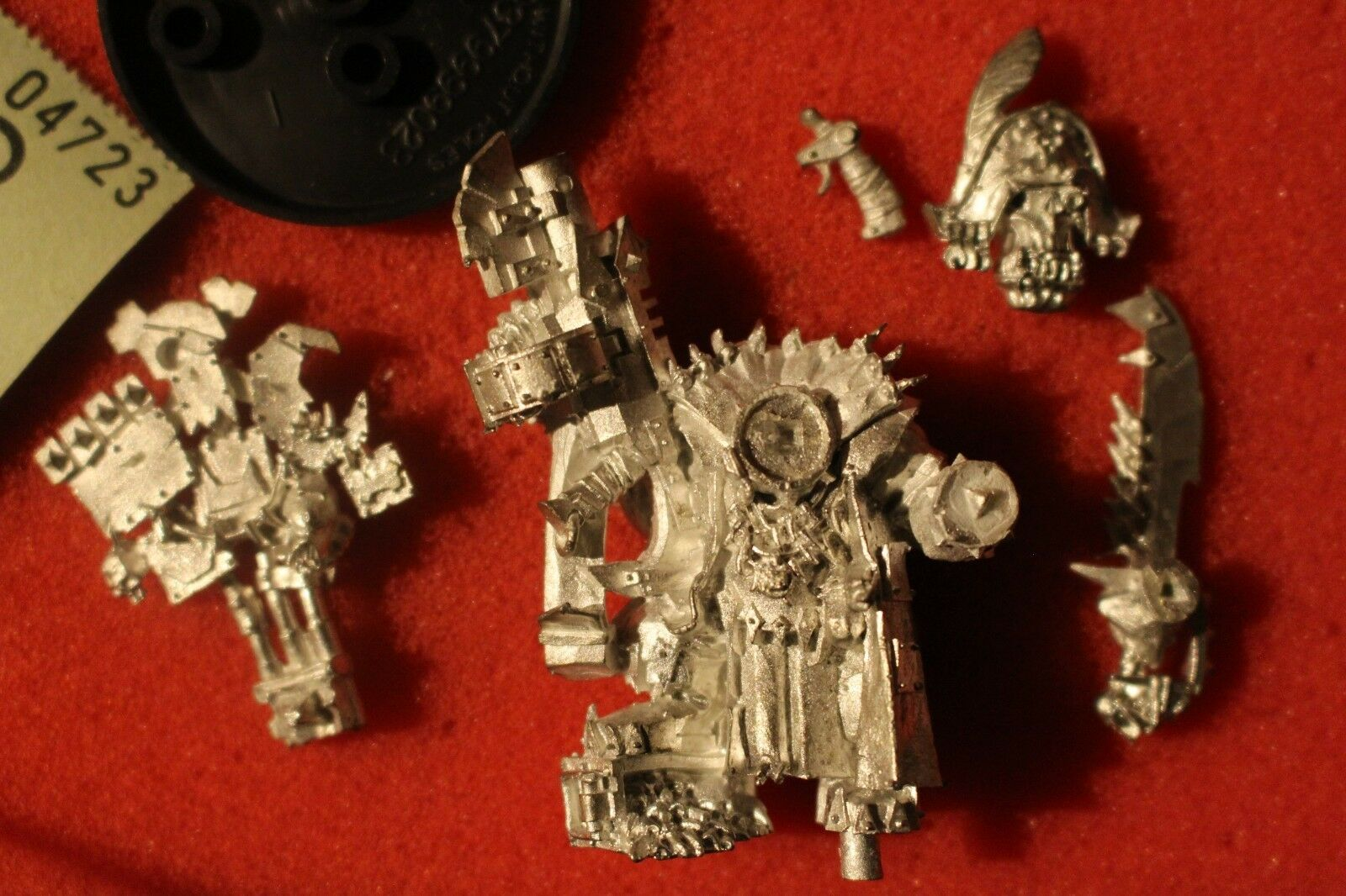 Games Workshop Warhammer 40k Orks Kaptin Badrukk OOP Metal WH40K New Freebooters