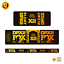 thumbnail 3 - STAR SAM® Bike shock absorber Gradient stickers 2021 Fox Float DPX2 Rear Shock