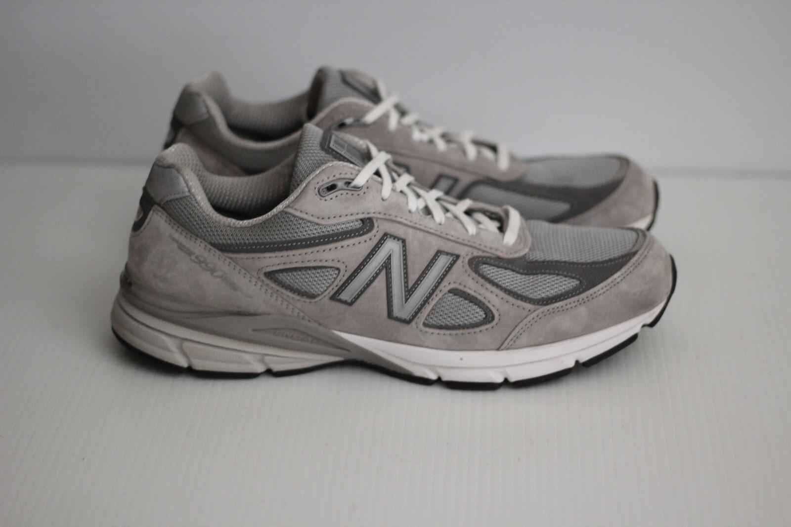 Para Hombre 990 Running zapatos New Balance-gris con Castlerock-D (X36)