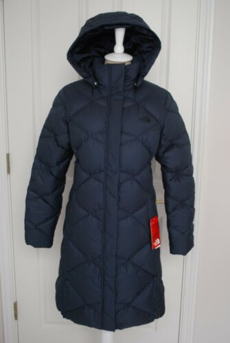 NWT THE NORTH FACE WOMENS MISS METRO PARKA DOWN NAVY BLUE