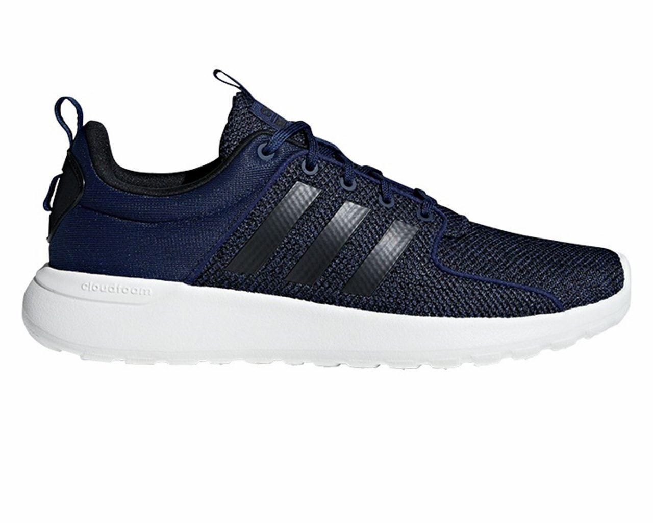 Para Hombre Adidas Cloudfoam CF Luz Racer B44731 Entrenadores Azul Tenis Para Correr