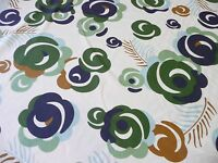 Dwell Odille Floral Fabric 54 Dwell Studio Blue Green