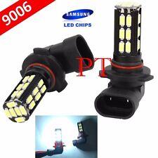 9006-HB4 Samsung LED 30 SMD White 6000K Headlight 2x Light Bulbs #ba1 Low Beam
