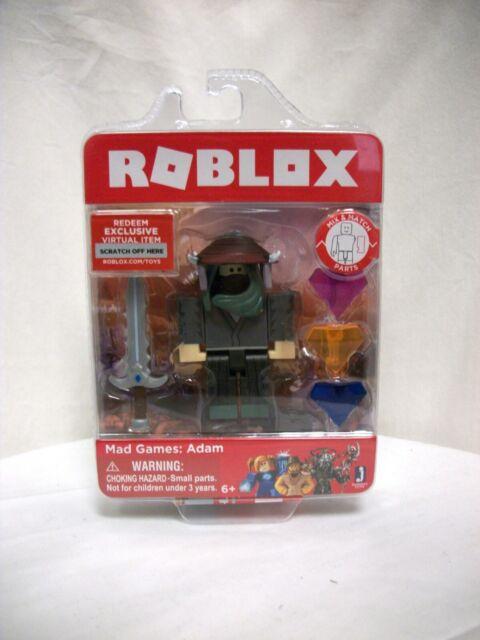 Roblox Mix Match Parts Mad Games Adam 3 Inch Mini Figurine