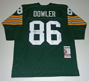 PACKERS-Boyd-Dowler-signed-jersey-w-86-JSA-COA-AUTO-Autographed